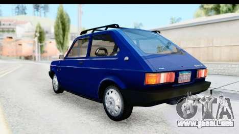 Fiat 147 Spazio TR Stock para GTA San Andreas left