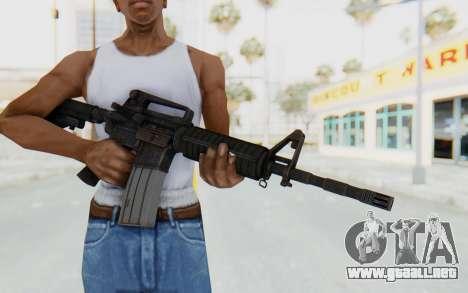 Assault M4A1 para GTA San Andreas tercera pantalla