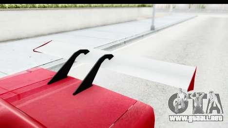 Greenwood Racing para visión interna GTA San Andreas