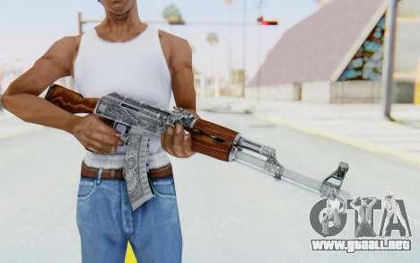 CS:GO - AK-47 Cartel para GTA San Andreas tercera pantalla