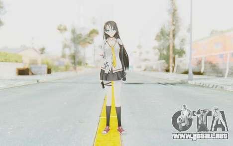 Yuri para GTA San Andreas segunda pantalla