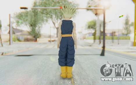 Dragon Ball Xenoverse Future Trunks Shirt SSJ para GTA San Andreas tercera pantalla