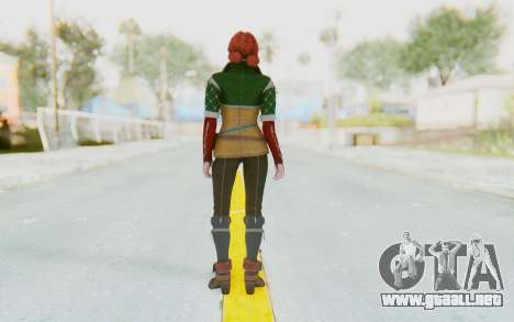 The Witcher 3 - Triss Merigold Default para GTA San Andreas tercera pantalla