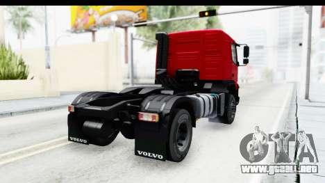 Volvo FMX Euro 5 v2.0 para GTA San Andreas left