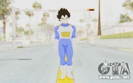 Dragon Ball Xenoverse Vegeta Android Saga para GTA San Andreas segunda pantalla