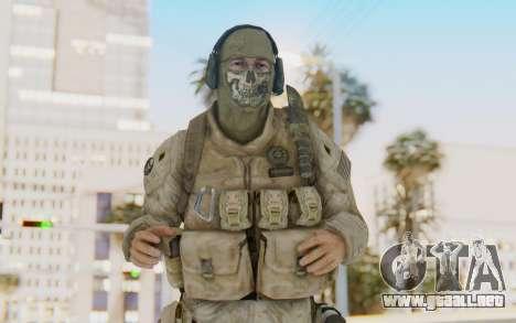 CoD MW2 Ghost Model v1 para GTA San Andreas