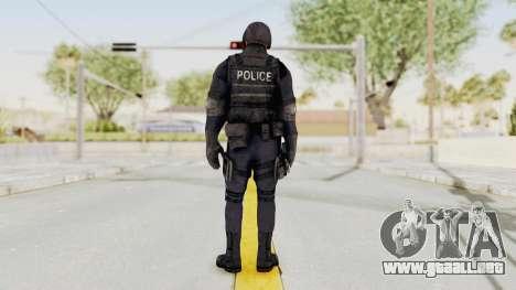 Dead Rising 2 Chucky Swat Outfit para GTA San Andreas tercera pantalla