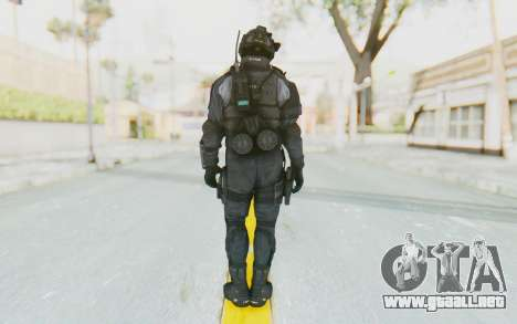 CoD BO2 LAPD v1 para GTA San Andreas tercera pantalla