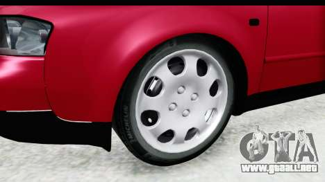 Audi A6 C5 Avant Sommerzeit para GTA San Andreas vista hacia atrás