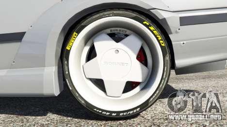 GTA 5 BMW M3 (E36) Street Custom vista lateral trasera derecha