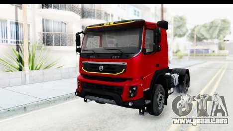 Volvo FMX Euro 5 v2.0 para la visión correcta GTA San Andreas
