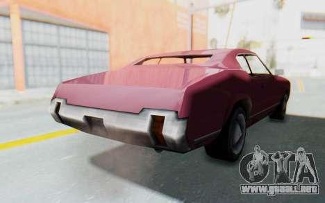 GTA VC Sabre para la visión correcta GTA San Andreas