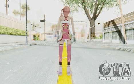 FinalFantasy XIII-2 - Serah para GTA San Andreas tercera pantalla