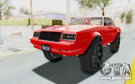 GTA 5 Willard Faction Custom Donk v2 IVF para la visión correcta GTA San Andreas