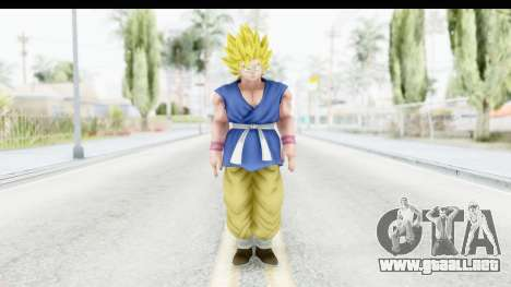 Dragon Ball Xenoverse Goku GT Adult SSJ2 para GTA San Andreas segunda pantalla