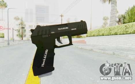 GTA 5 Hawk & Little Combat Pistol para GTA San Andreas tercera pantalla