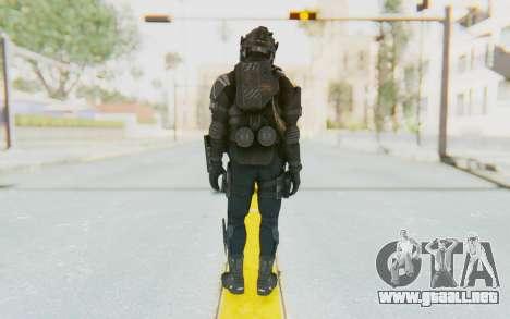 Federation Elite LMG Tactical para GTA San Andreas tercera pantalla