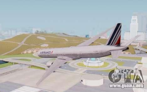Boeing 777-300ER France Air para GTA San Andreas left