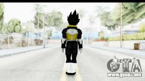 Dragon Ball Xenoverse Vegeta Timebreaker para GTA San Andreas tercera pantalla