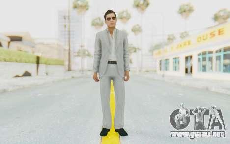 Mafia 2 - Vito Scaletta Madman Suit White para GTA San Andreas segunda pantalla