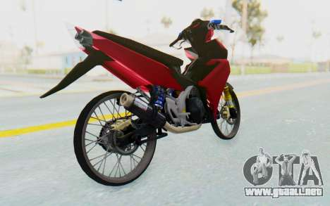 Yamaha Jupiter MX 135 Lock Style para la visión correcta GTA San Andreas