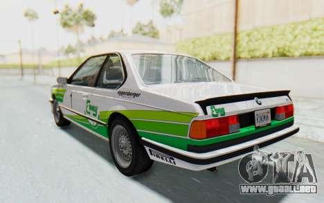BMW M635 CSi (E24) 1984 HQLM PJ2 para las ruedas de GTA San Andreas