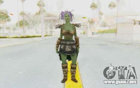 Skyrim - Khorah Orc v1 para GTA San Andreas segunda pantalla