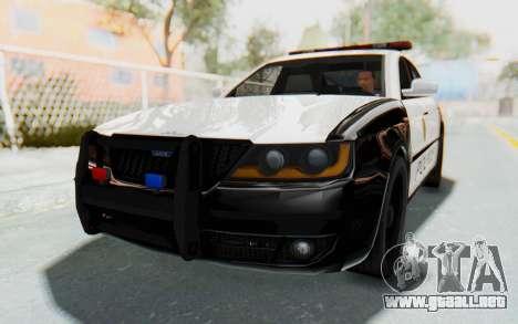 ASYM Desanne XT Pursuit v3 para la visión correcta GTA San Andreas