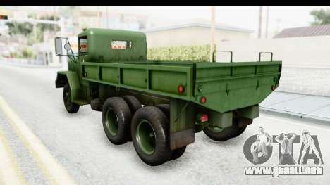 AM General M35A2 para GTA San Andreas left