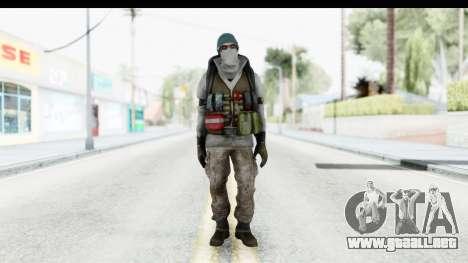 The Division Last Man Battalion - Medic para GTA San Andreas segunda pantalla