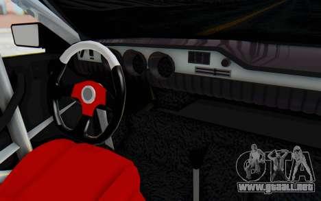Dacia 1300 4x4 para visión interna GTA San Andreas