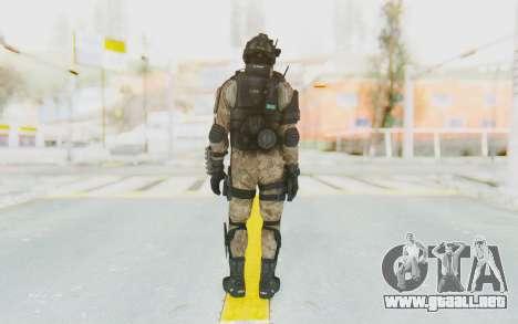Federation Elite Shotgun Desert para GTA San Andreas tercera pantalla