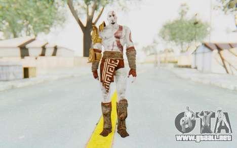 Kratos v1 para GTA San Andreas segunda pantalla