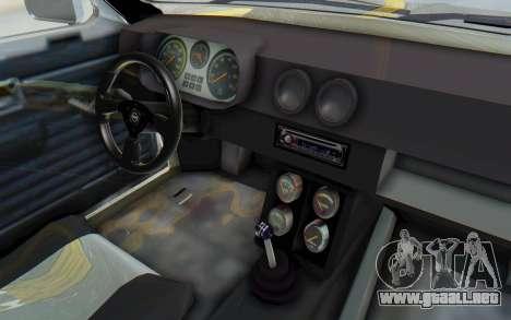Opel Kadett C Coupe para GTA San Andreas vista hacia atrás