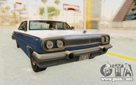 GTA 5 Declasse Voodoo Alternative v2 PJ para la visión correcta GTA San Andreas