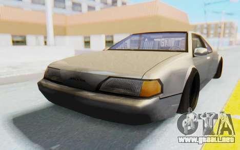 Fortune Wide Body para GTA San Andreas vista posterior izquierda
