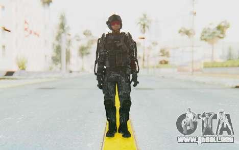 CoD Advanced Warfare ATLAS Soldier 2 para GTA San Andreas segunda pantalla