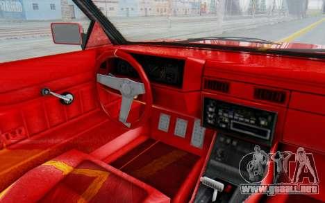 GTA 5 Willard Faction Custom Donk v2 IVF para visión interna GTA San Andreas