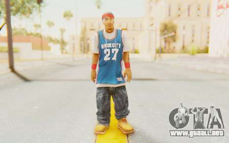 Def Jam Fight For New York - Redman para GTA San Andreas segunda pantalla