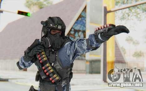 Federation Elite Shotgun Urban-Navy para GTA San Andreas