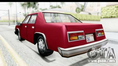 Ford Fairmont from Bully para GTA San Andreas left
