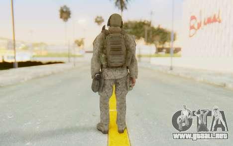 CoD MW2 Ghost Model v1 para GTA San Andreas tercera pantalla