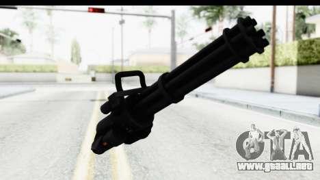 GTA 5 Coil Minigun v2 para GTA San Andreas segunda pantalla
