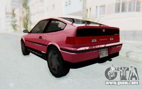 Dinka Blista Compact 1990 para GTA San Andreas left