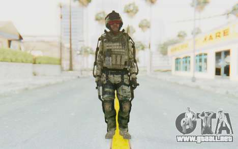 CoD AW US Marine Assault v3 Head C para GTA San Andreas segunda pantalla