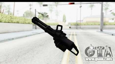 GTA 5 Coil Minigun v2 para GTA San Andreas tercera pantalla