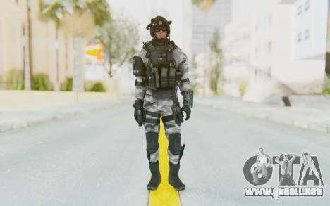 Federation Elite Assault Arctic para GTA San Andreas segunda pantalla