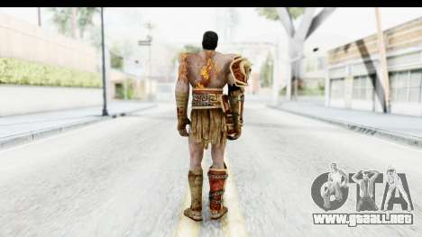 God of War 3 - Deimos para GTA San Andreas tercera pantalla