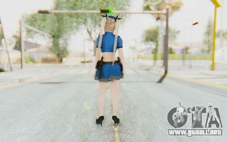 DoA 5: LR - Marie Rose Police v2 para GTA San Andreas tercera pantalla