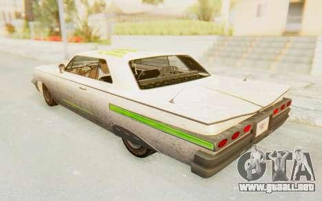 GTA 5 Declasse Voodoo Alternative v2 PJ para vista inferior GTA San Andreas